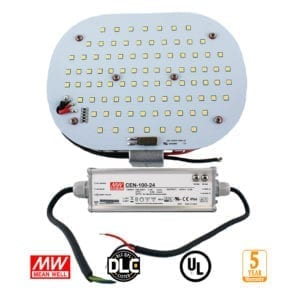 LED RETROFIT PLATE