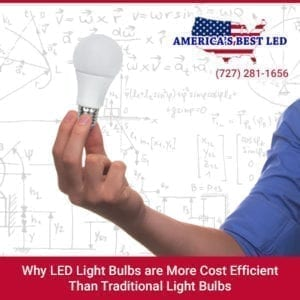 LED Lights save energy