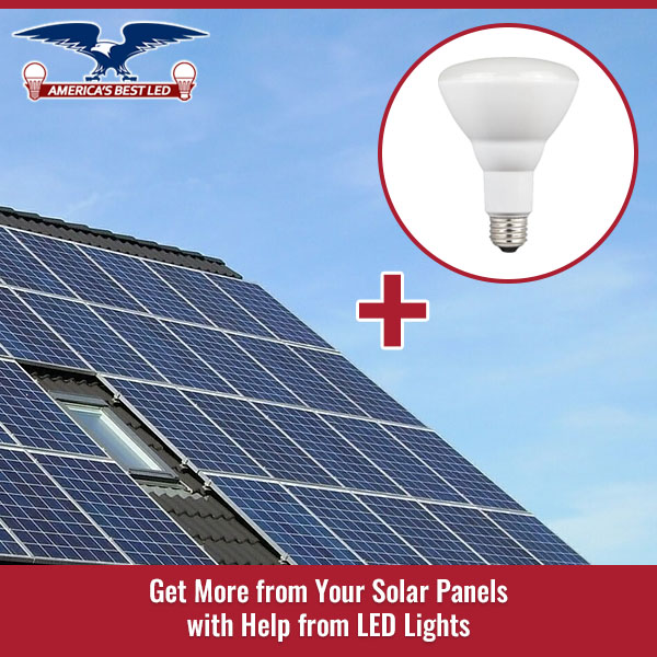 Get More From Your Solar Panels With Help From Led Lights