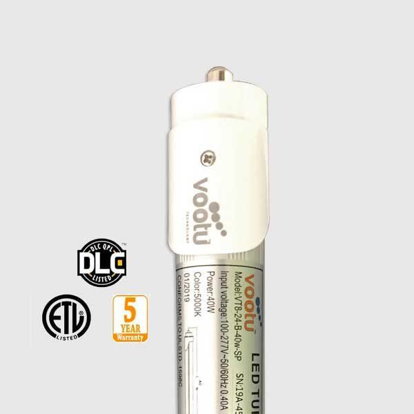 America's Best LED - Vootu 8 Foot T8 LED Tube Light Fixture 40 Watts