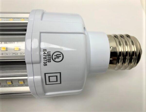 LED corn lamp 45 watt UL listed